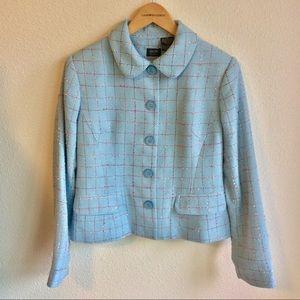Vintage Nicole Miller Blazer Tweed Size 10